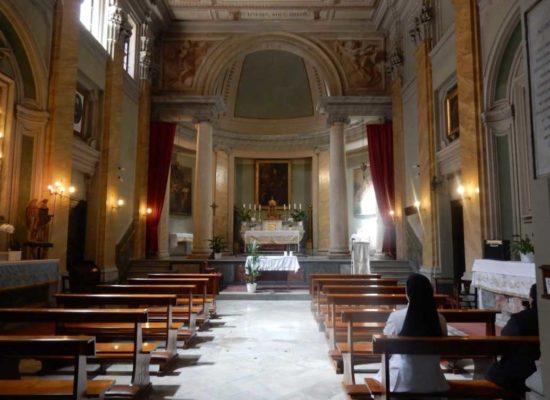Interior of San Biagio degli Armeni