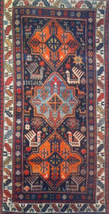 Star Bird Carpet, Barsa,1903