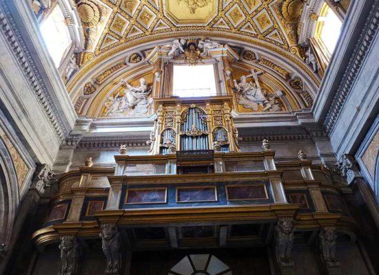 Inside, San Nicola da Tolentino agli Orti Sallustiani