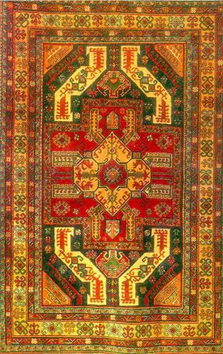 Armenian Carpet, Khdzoresk, Syunik, 19th century