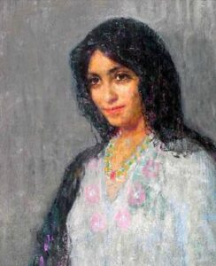 A Girl of Barcelona, Pushman
