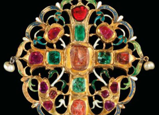 Armenian Gemset & Enamelled Reliquary, 17th century