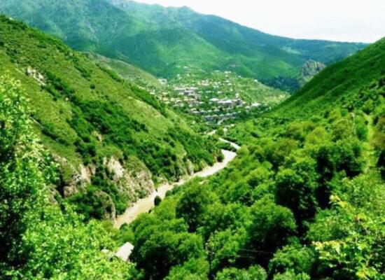 Agstev River, 133 km, Lori and Tavush Provinces