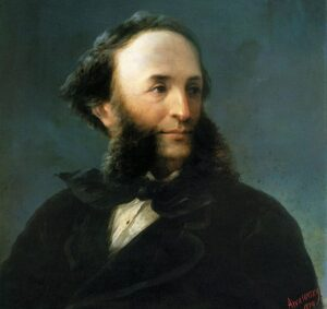Self-portrait, 1874.