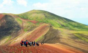 Mount Azhdahak, Extinct Volcano, the highest point of Geghama Range, 3,597 m