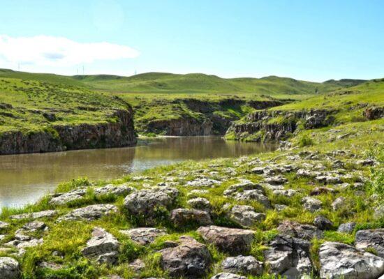 Akhuryan River, 186 km, Shirak Province