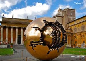 Amaldo Pomodoro, Sphere, Vatican