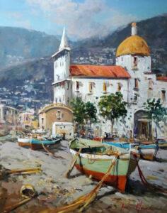 Chiesa dei pescatori, Andrea Marini