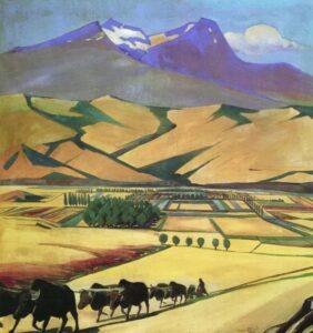 Aragats, 1925.