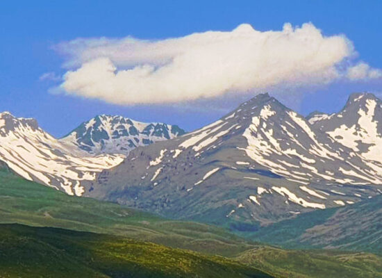 Mount Aragats: Northern—4,090 m, Western—3,995 m, Eastern—3,908 m, Southern—3,888 m. Aragatsotn and Shirak Provinces