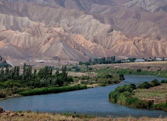 Araks River,1 072 km, Vayots Dzor Province