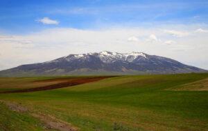 Ara Ler or Mount Ara, 2,614 m. Aragatsotn Province.