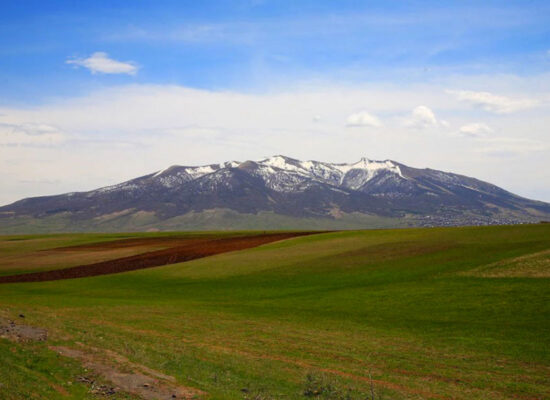 Ara Ler or Mount Ara, 2,614 m. Aragatsotn Province