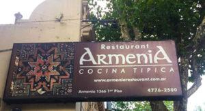 Armenia Rrestaurant on-Armenia street, Buenos Aires, Argentina