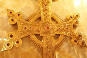 The Golden Cross, fragment, Cathedral of Etchmiadzin.