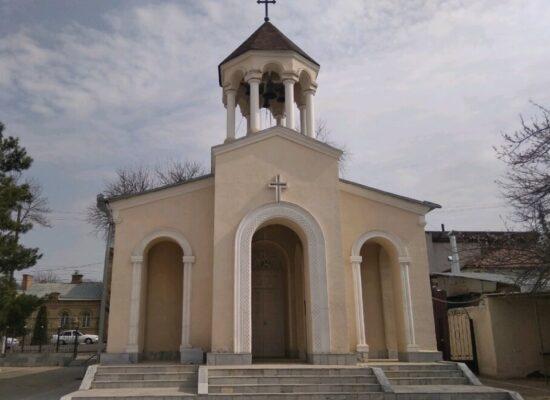 Armenian Apostolic Church of the Holy Virgin, Samarkand, Uzbekistan
