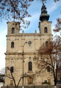Armenian Catholic church in Dumbrăveni