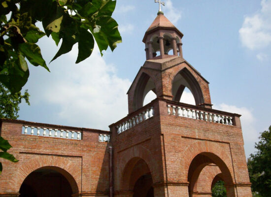Armenian Church Berhampore, 1757, Berhampore, Saidabad, West Bengal.