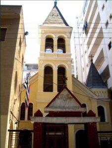 Armenian Church of Virgin Mary, 1903, Thessaloniki, Greece.