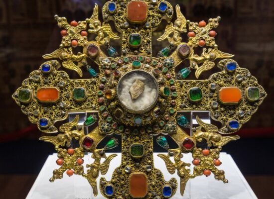 Armenian Cross with the relics of St. George the Victorious, 1746, The Metropolitan Museum of Art, New York, USA