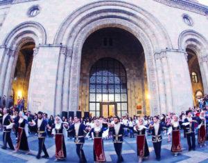 Karin Folk Song & Dance Ensemble performs Armenian Dance Shoror, adapted by Komitas.