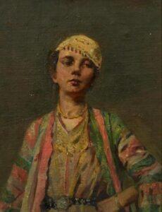 Armenian Girl , Pushman