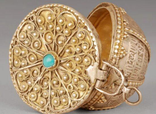 Armenian Jewelry box, 1751, Armenian Museum of France (AMF), Musée Arménien de France, Paris, France