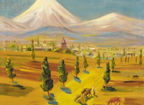 Armenian Landscape in Summer, 1926