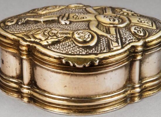 Armenian Polylobed Host Box, Silver, 1783, Musée Arménien de France