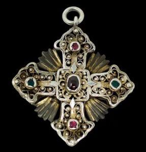 Armenian Silver Cross, 18th century