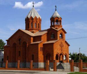 Armenian St. Resurrection church in Kharkiv (2004)