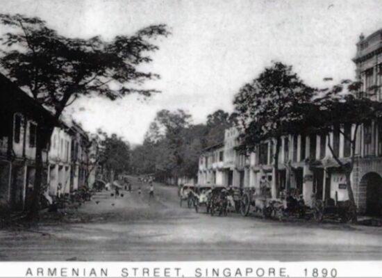 Armenian Street, Singapore, 1890