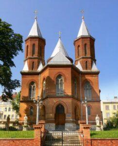 Armenian church in Chernivtsi (19th century)