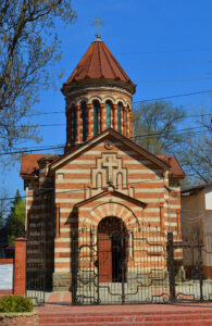 Armenian Apostolic Church of the Resurrection of Christ, Moldova.