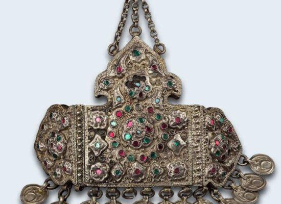 Armenian Headwear Adornment, 19th century, Russian Museum of Ethnography, Saint Petersburg