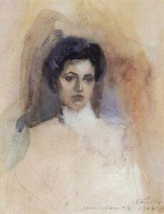 Armenian Woman from Nakhichevan, Saryan