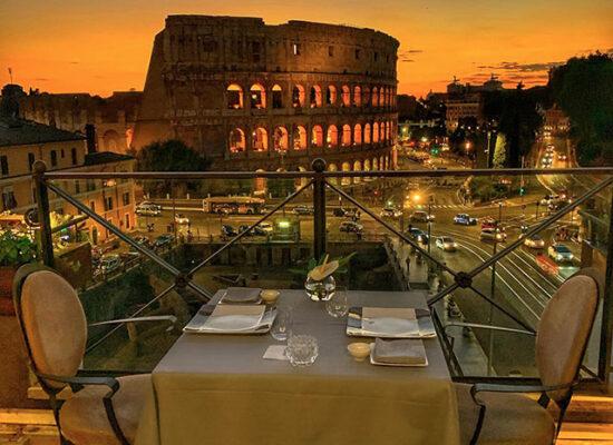 Aroma Restaurant,Via Labicana, 125, 00184 Roma