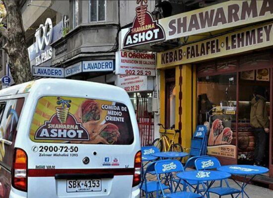 Ashot Shawarma, Montevideo, Uruguay
