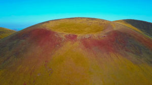 Mount Azhdahak- extinct volcano. The highest point of Geghama Range. 3597 meters above the sea level.