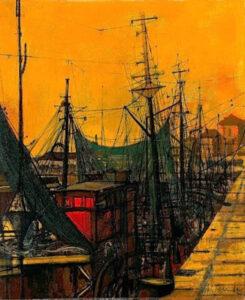 Bateaux Au Port, 1962.