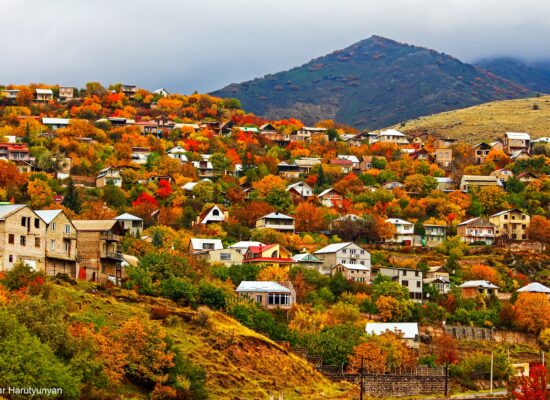 Bjni Village, Armenia.