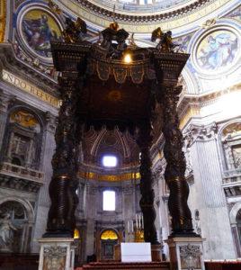 Baldachin, St. Peter's Basilica