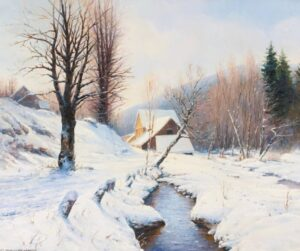 Winter Landscape, Bashinzhagyan