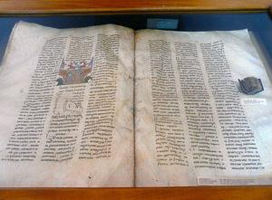 "The Biggest Book is ""Msho Charentir"" (1200-1202 AC), weight - 28 kg and the Smallest Book - Church Calendar (1434 AC), weight - 19 g, Matenadaran."