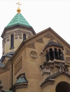 The-Armenian-Apostolic-Cathedral-in-Paris-is-located-at-15-Rue-Jean-Goujon, Paris