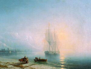 Calm Sea, 1863.