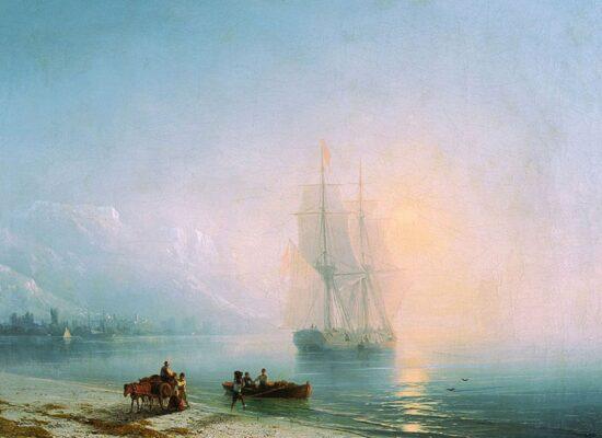 Calm Sea, 1863