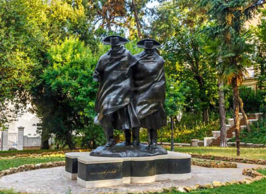 Monument of the Bicentennial of the Carabinieri, Via del Quirinale, 26-28.