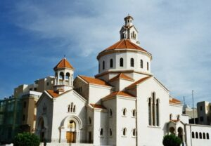 Cathedral of Saint Elias and Saint Gregory the Illuminator, Lebanon.
