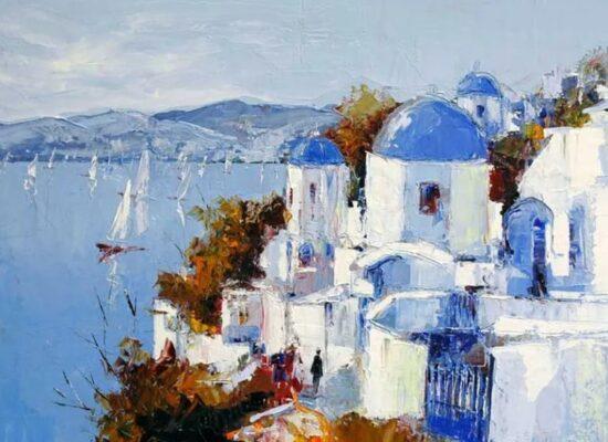Santorini, Celestin Messaggio